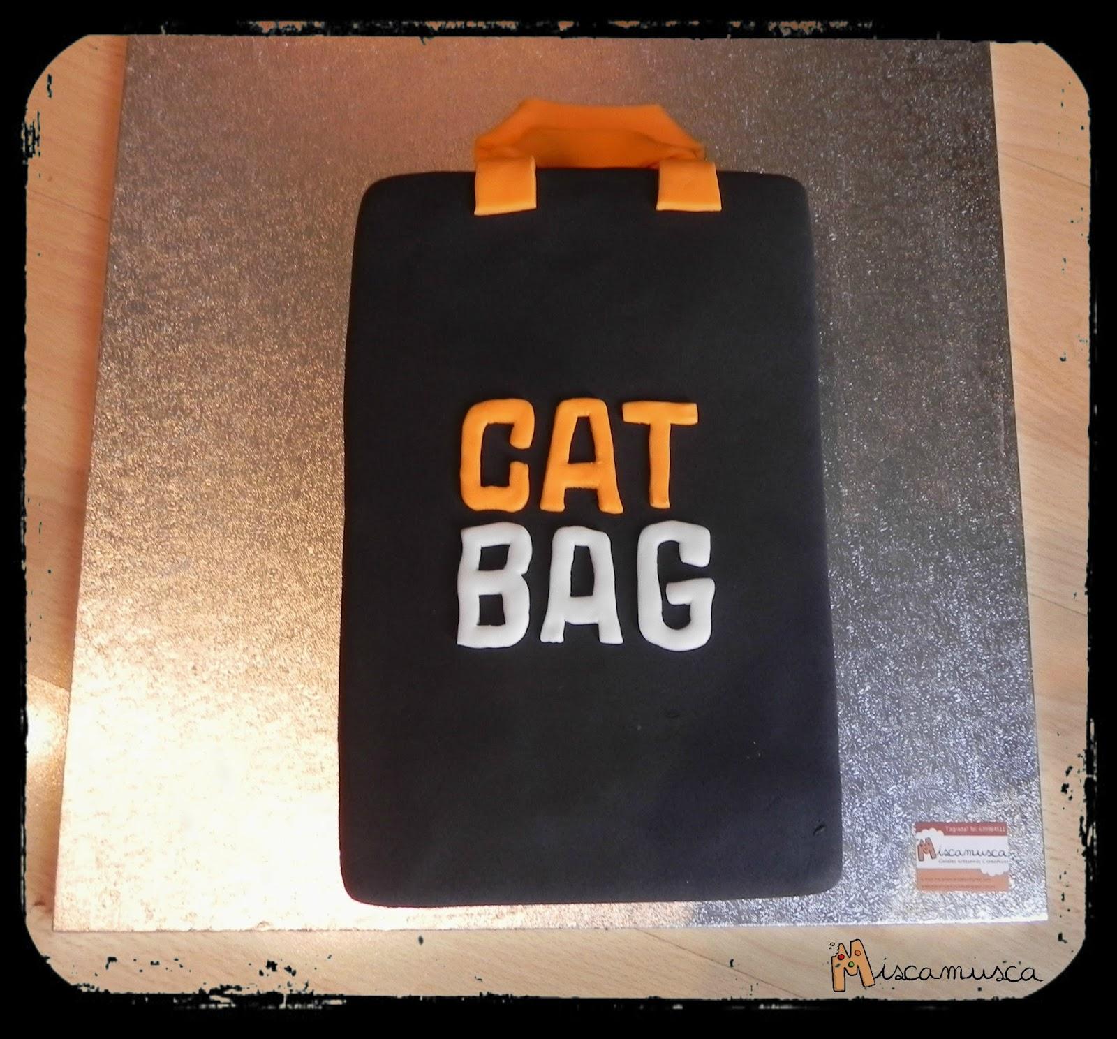 Pastel fondant bolsa CatBag