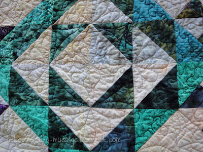 Forest Canopy, quilting detail 1