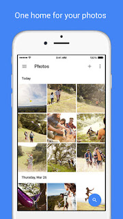 Google Photos Screen Shot - One home for your photos