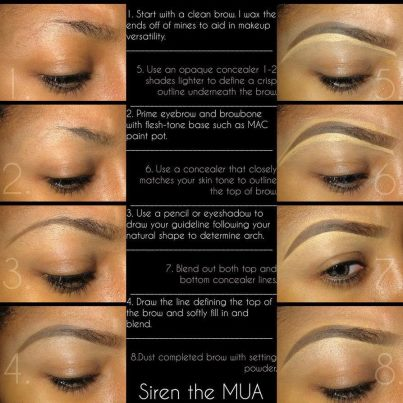 PerfectMélange: How To Groom Your Eyebrows Perfectly 3
