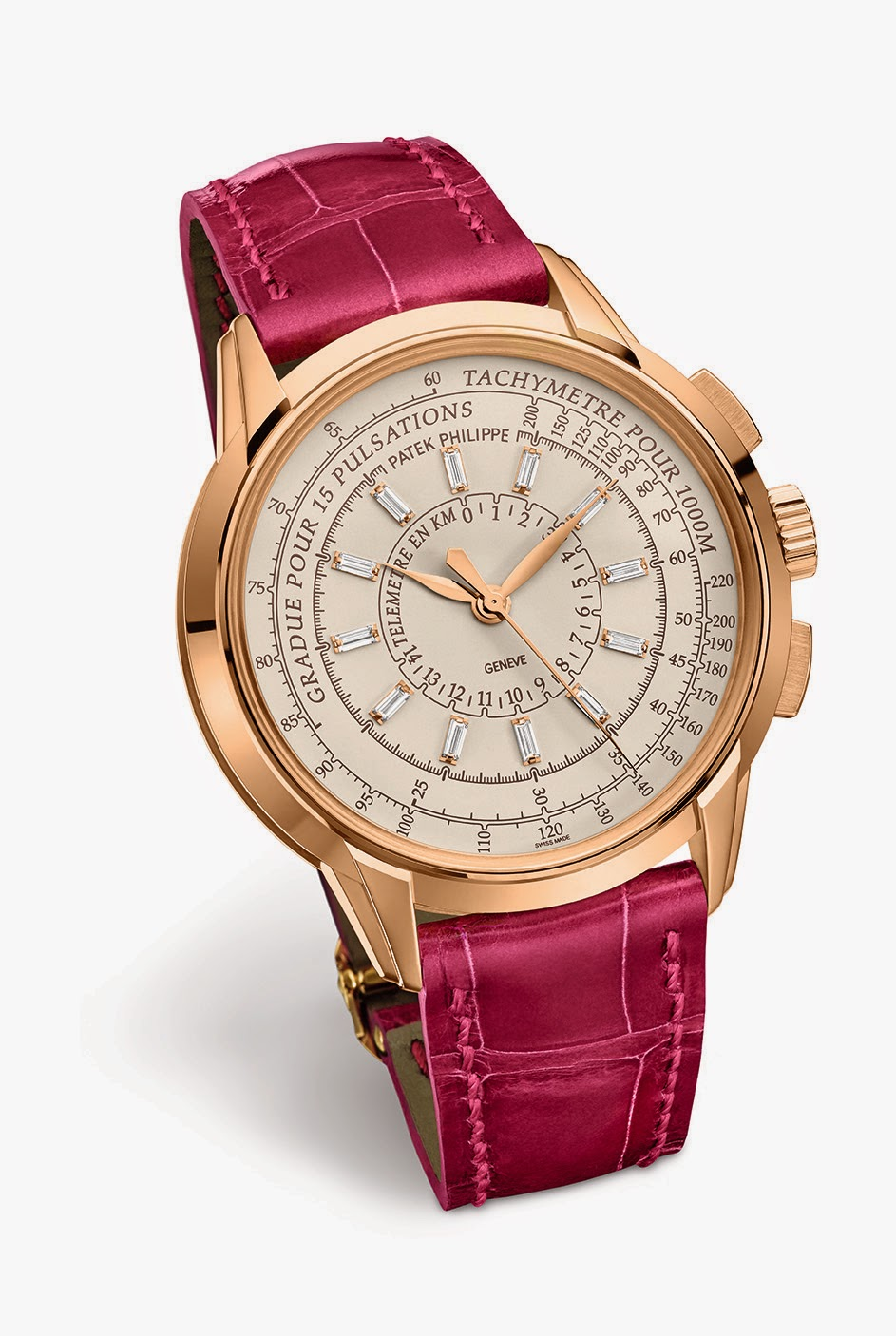 Patek philippe limited edition ladies multi scale chronograph ref 4675r sense of luxury for Patek philippe women