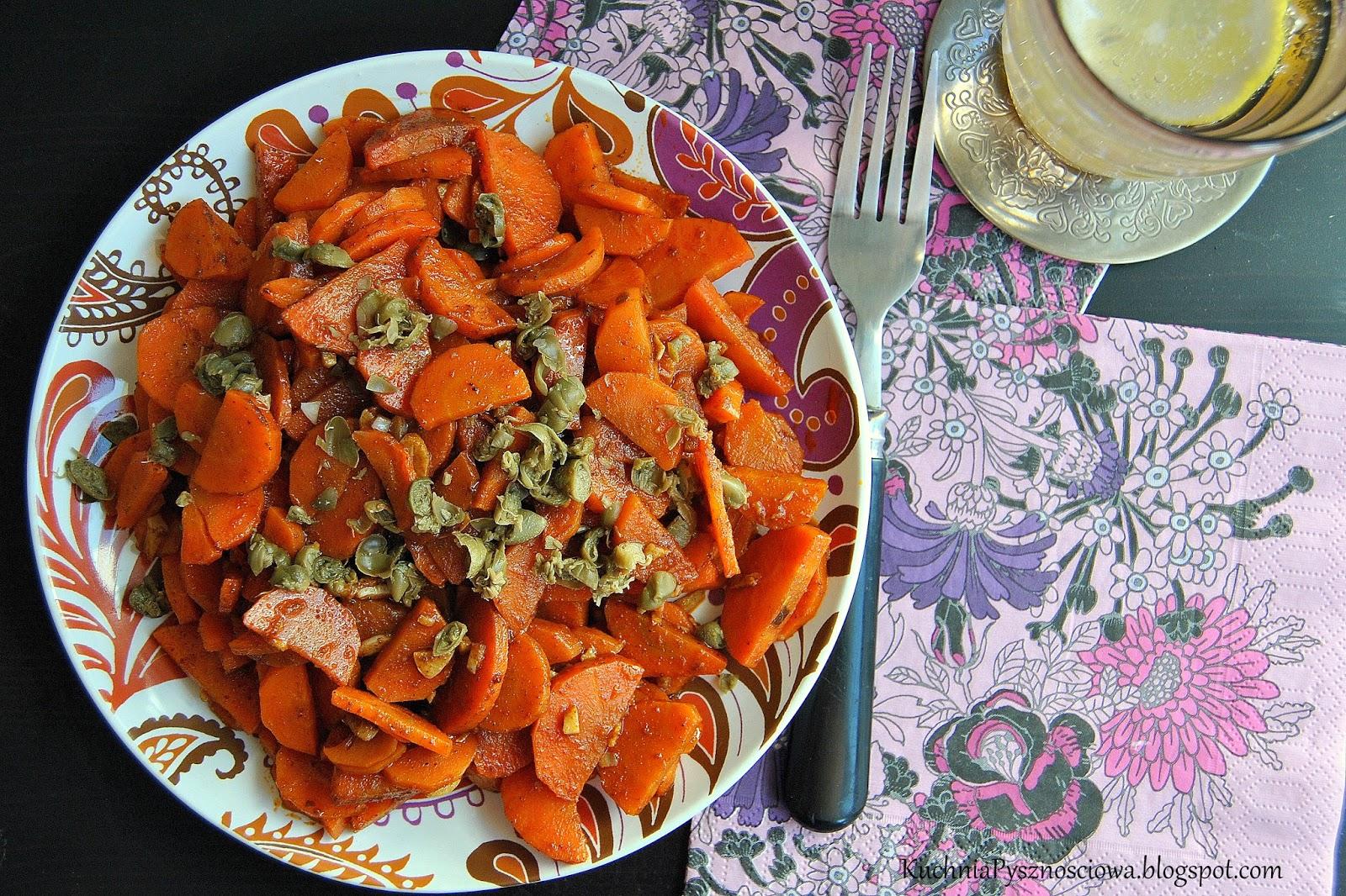 315. Oummok Houria, czyli arabska sałatka z marchewki i kaparów