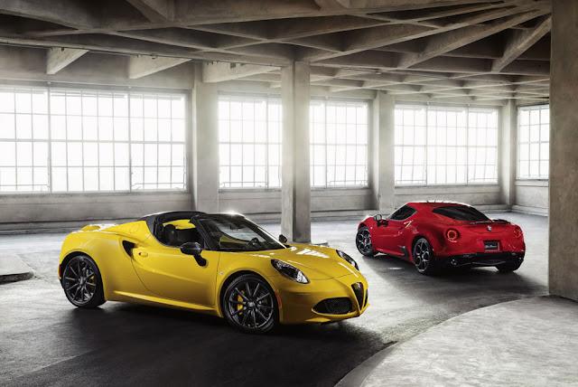 New Alfa Romeo 4C Spider
