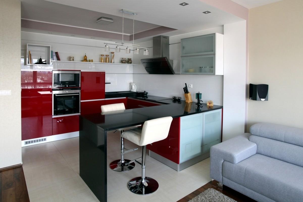 6 dicas de como usar balc es na sua cozinha americana for Modelos de mini apartamentos