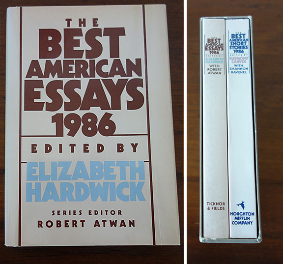 essay daily talk about the essay robert atwan the best american  robert atwan the best american essays some notes on the series its background and origins