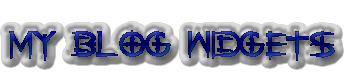 My Blog Widgets