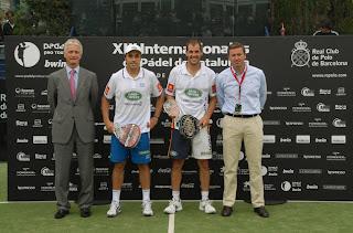 ganadores Padel Protur Barcelona 2011
