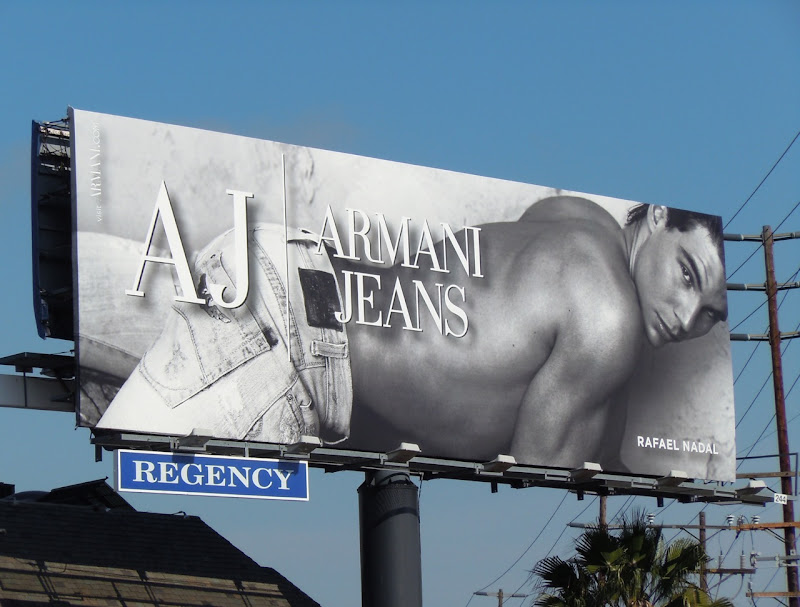 Rafael Nadal AJ Sunset Strip billboard