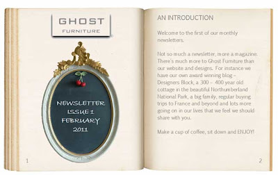 ghost furniture newsletter