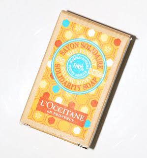 L'Occitane мыло из серии Мед и Каритэ, благотворительность