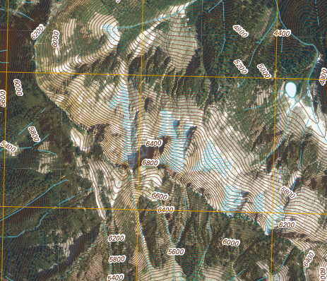CalTopo Working with US Topo Maps