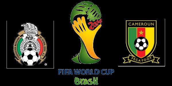 pronóstico méxico vs camerún mundial de brasil 2014