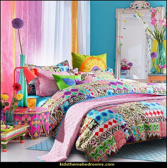 boho style decorating boho decor bohemian bedding boho chic decor boho theme - Hippie Bedroom Ideas 2