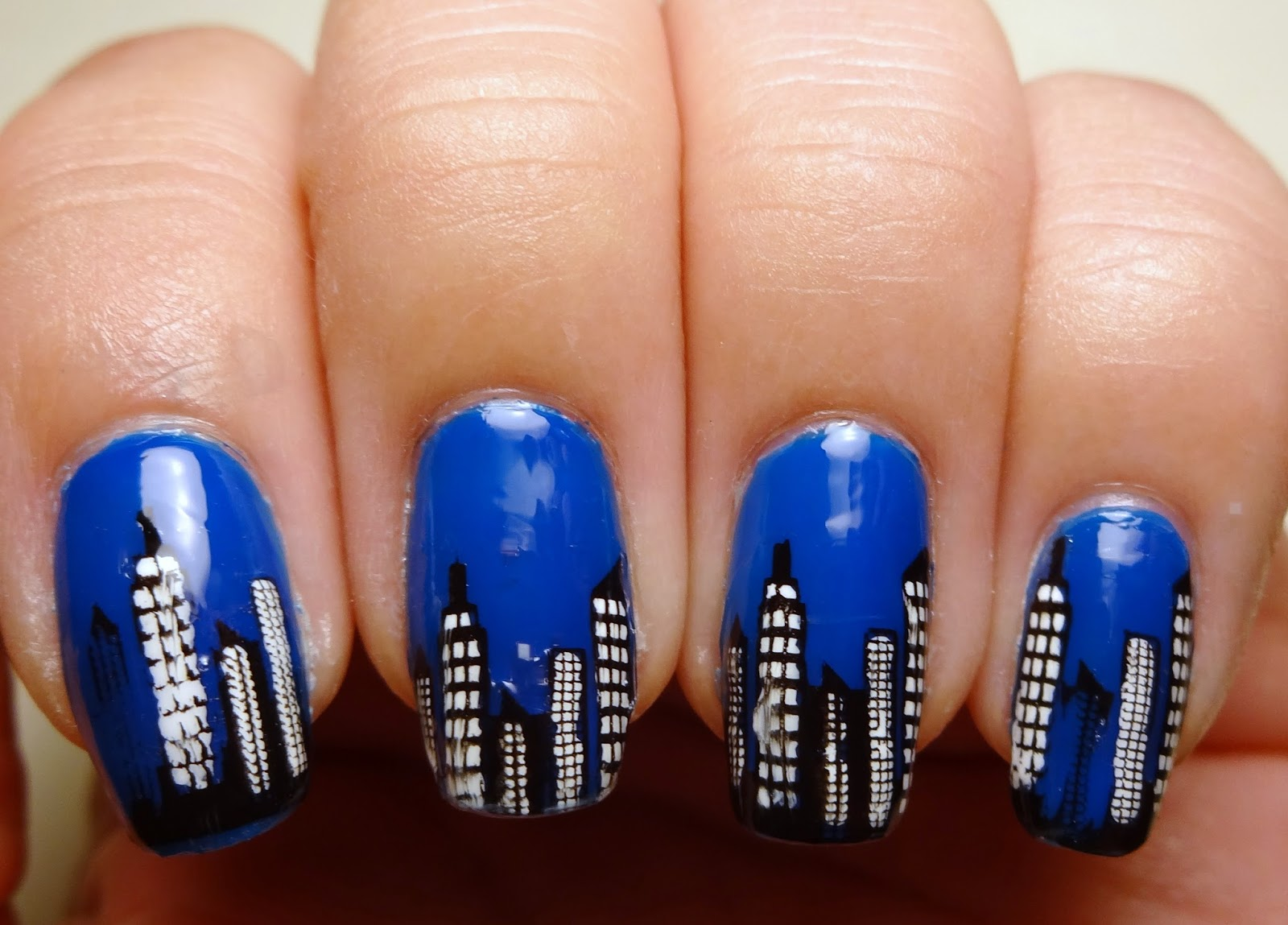 City Stamp Nails