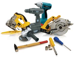 Burglars will often steal tools