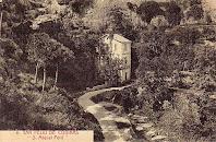 Postal antiga de Sant Miquel Petit en el camí de carro a Sant Miquel del Fai