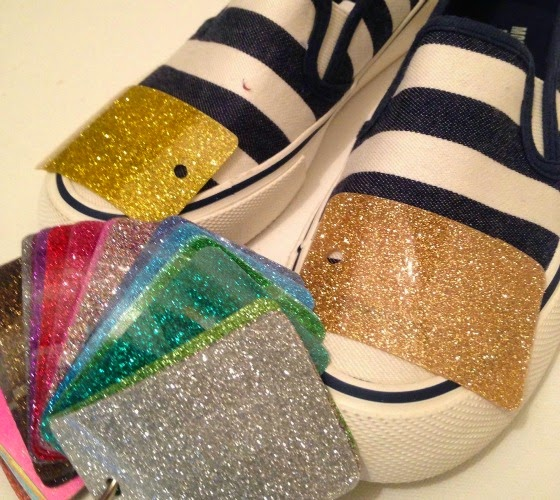 how to add glitter to vinyl permanently