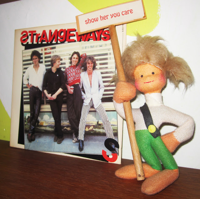 Strangeways - Show her you care - 1978 Real records crazeegirl punk power pop