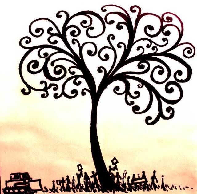 Pohon kehidupan yang berada di bahrain ini merupakan pohon yang