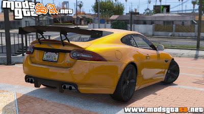 V - Jaguar XKR-S GT 2013 para GTA V PC