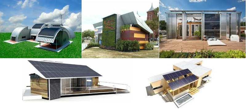 Construir casa autosuficiente. - Spherics Rooms