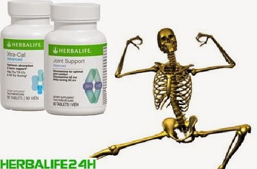 Không nên chỉ dùng Herbalife Xtra Cal mà dùng cả bộ xương khớp