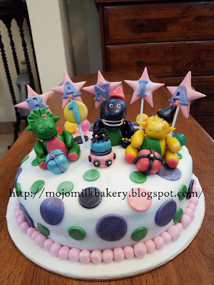 Barney Birthday Cake on Mojo Milk Bakery  Barney   Friends Birthday Cake
