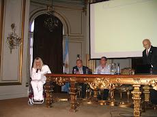Salón Dorado de la Legislatura. Presentación de Microemprendimientos Solidarios