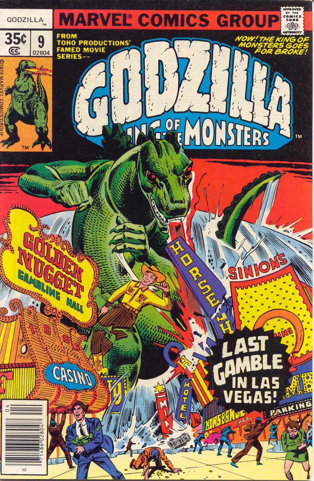 Godzilla (1977) Issue #9 #9 - English 1