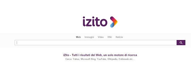 Come Rimuovere izito.it da Pagina Iniziale Google Chrome, Mozilla Firefox e Internet Explorer
