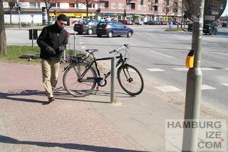 Hamburg - Bettelampel