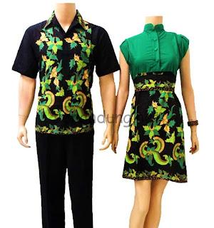 Kumpulan Baju Batik Couple Terbaru 2013