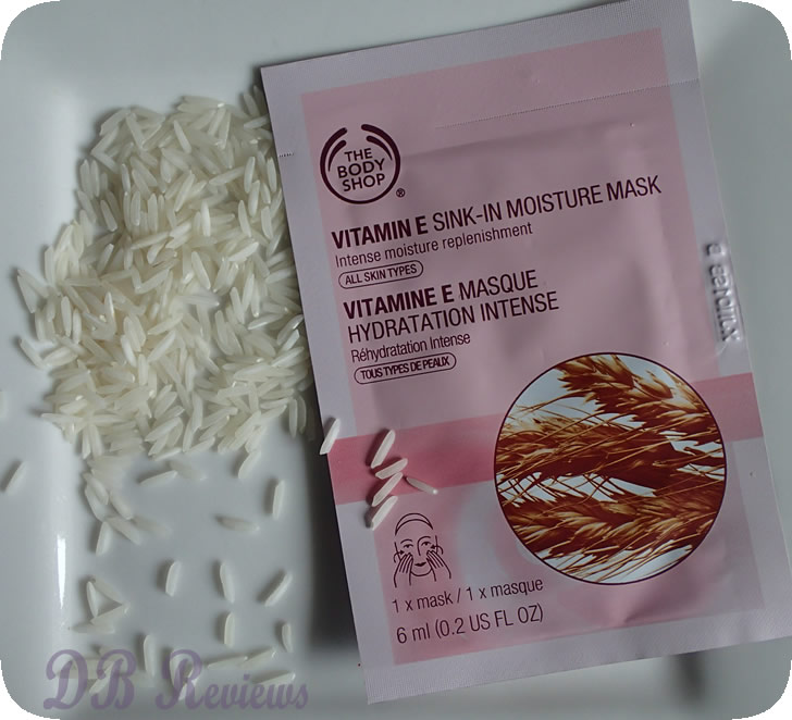 The Body Shop Vitamin E Sink In Moisture Mask Db Reviews