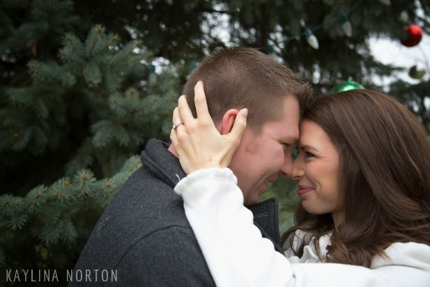 Christmas Engagement Pictures