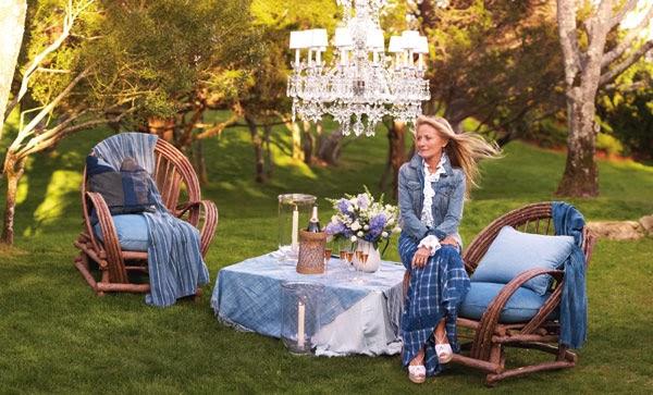Tara dillard ricky lauren the hamptons food family for Hamptons home and garden design penarth