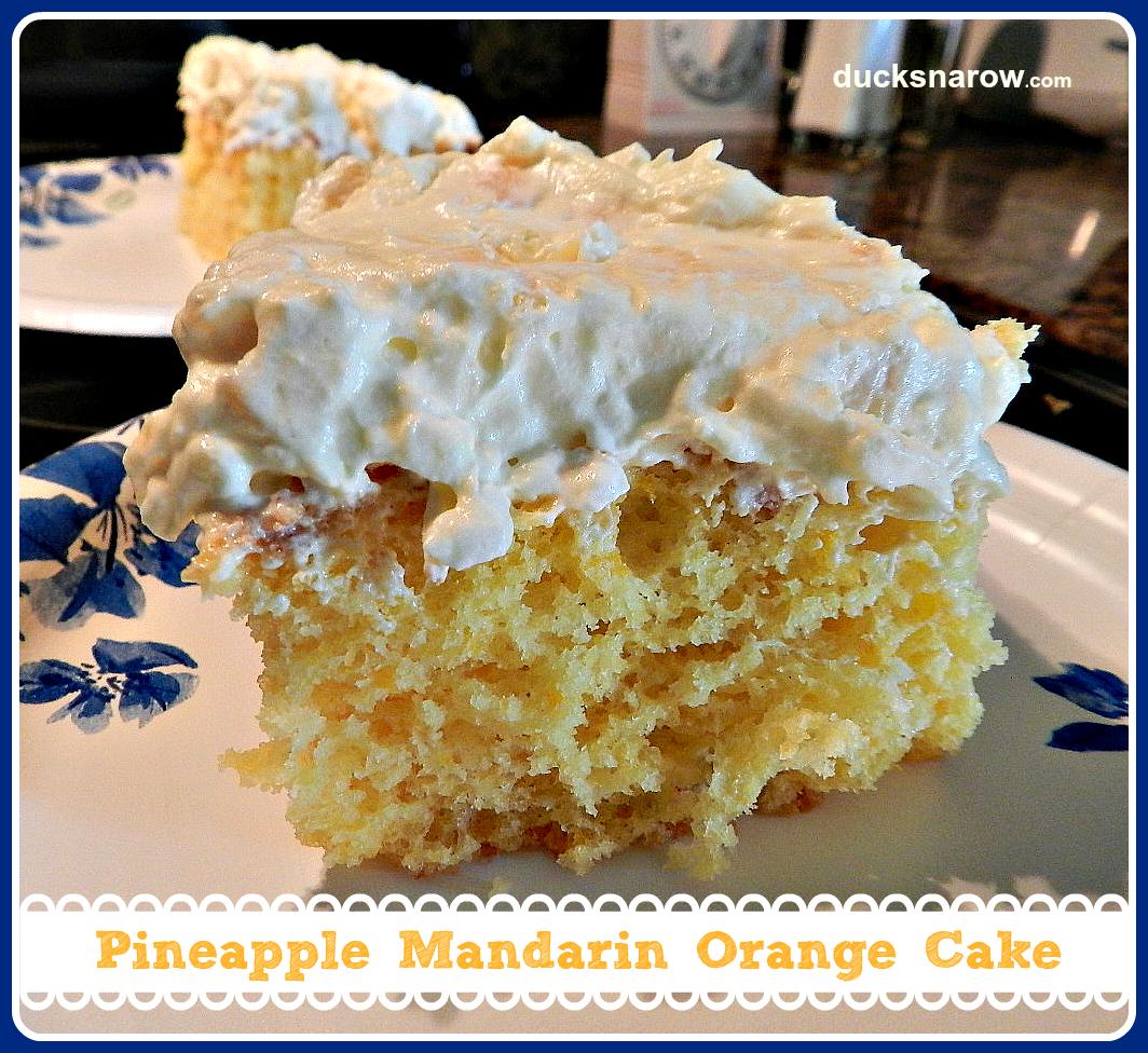 Pineapple Orange Cake: Dreamy Pineapple Mandarin Orange Cake