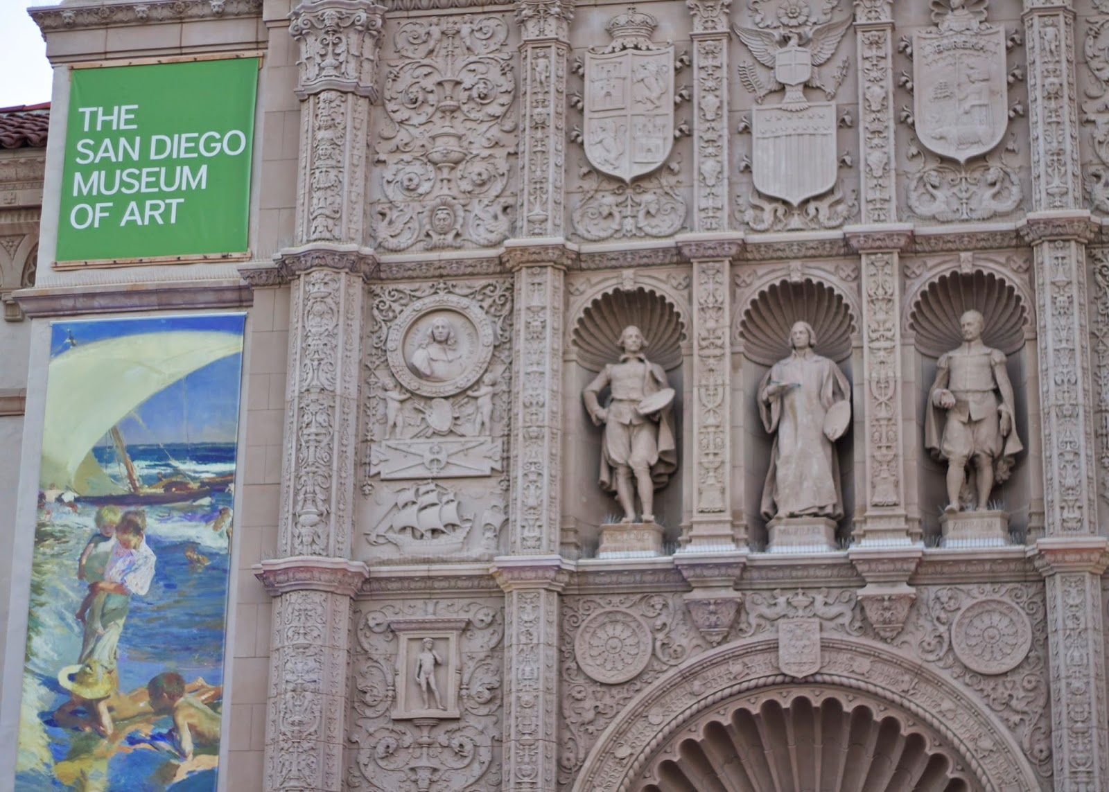 The san diego museum of art, The san diego museum of art balboa park, The san diego museum of art entrance