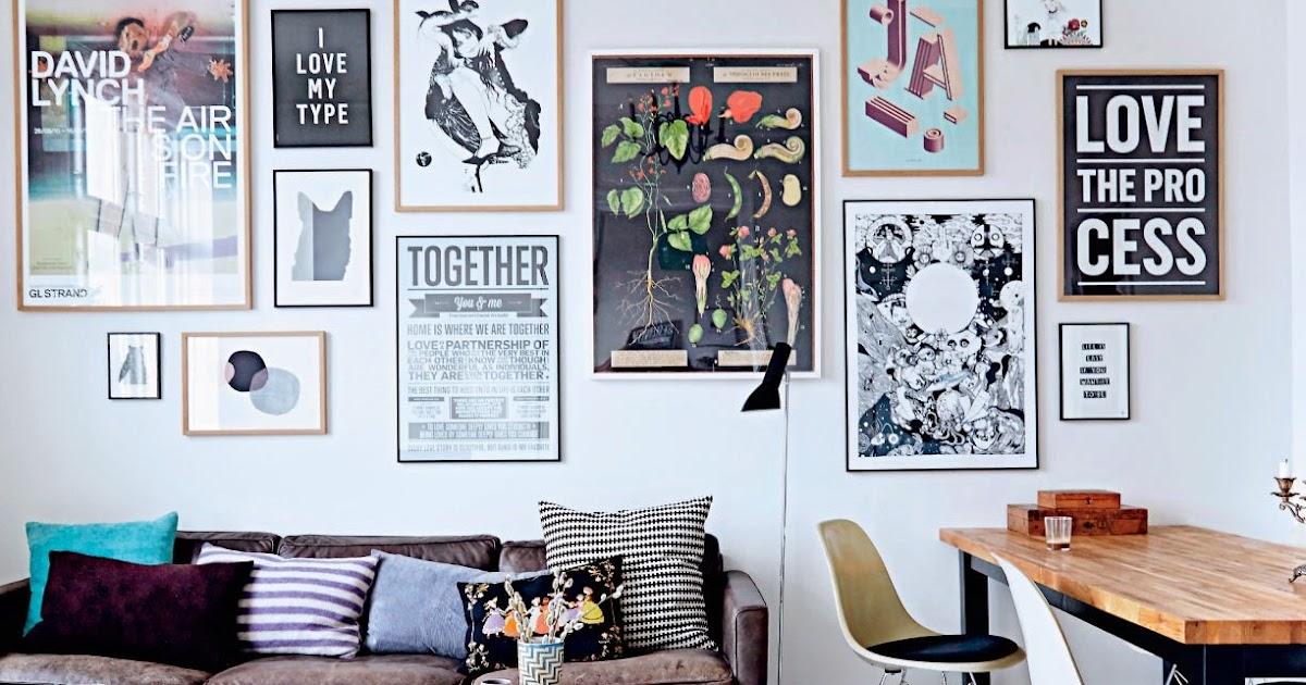 The cool Copenhagen home of a typographer