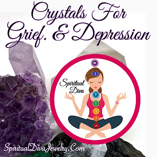 crystals and gemstones for grief and depression: crystals