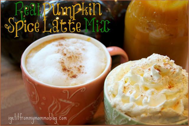 Real Pumpkin Spice Latte Mix