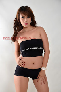 Putri Ramadani for Popular World Magazine BFN Season 2, July 2013