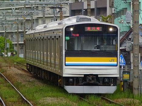 鶴見線 浜川崎行き 205系