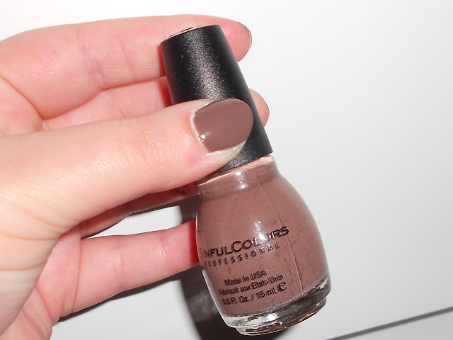 Sinful Colours Matte nail polish in Nirvana shade 949 boots
