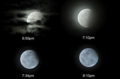 Gerhana Bulan Separa 4 Jun 2012