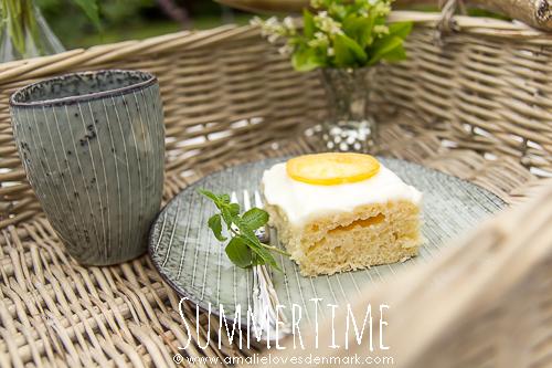 Amalie loves Denmark Zitronenkuchen aus der LIVING AT HOME