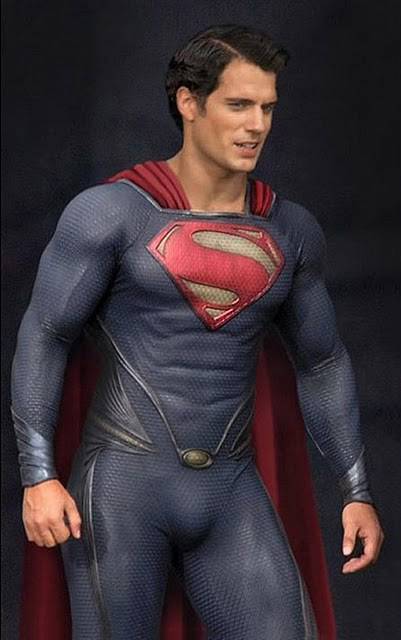 How does Henry Cavill in Superman suit make you feel?