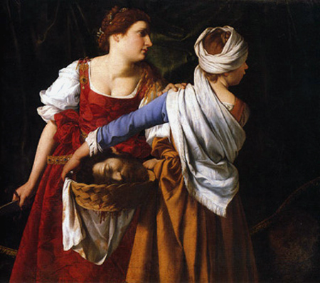 judith and her maidservant with the head of holofernes c 1608 09Judith And Her Maidservant With The Head Of Holofernes
