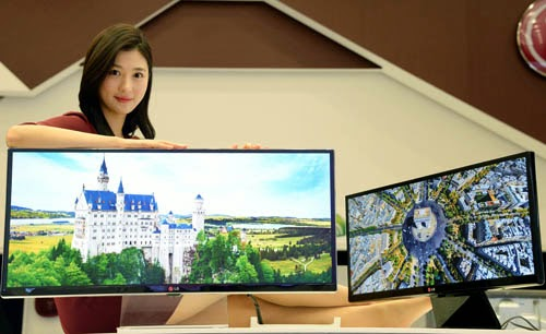 lg 4k monitor launch in ces 2014