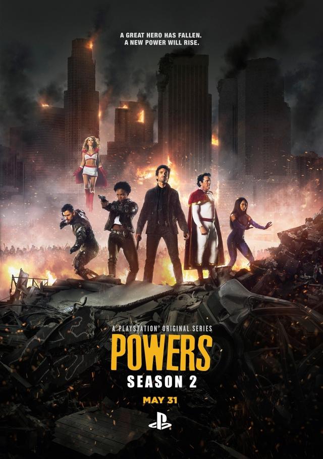 Sức Mạnh Tối Thượng Phần 2 - Powers Season 2 (2016)