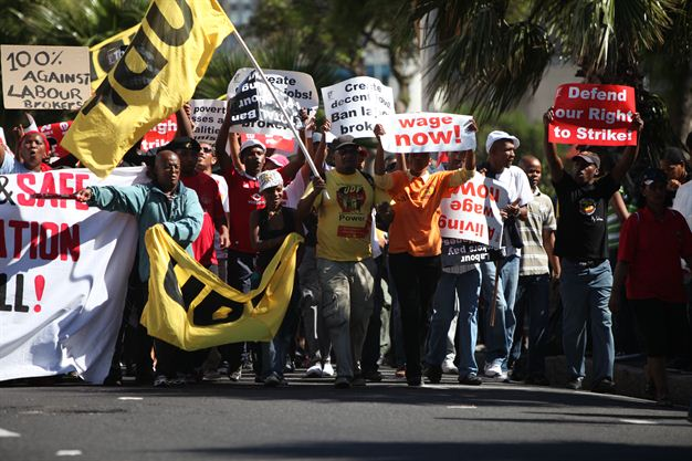 Bnh News Cosatu March Pictures 2012